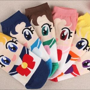 Accessories - Sailor Moon and friends socks